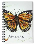 Monarchs - Butterfly Spiral Notebook