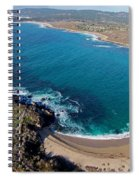 Monastery Beach Spiral Notebook