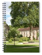 Monastery Fontenay Spiral Notebook