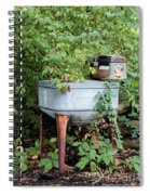 Monday Is Laundry Day Spiral Notebook