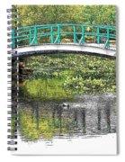 Monet Bridge Spiral Notebook