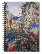 Monet: Montorgeuil, 1878 Spiral Notebook