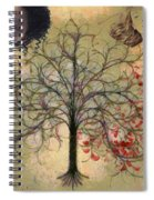 Monet Splashed Petals Spiral Notebook