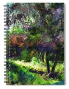 Monet's Garden Spiral Notebook