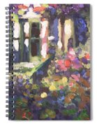 Monet's Home In Giverny Spiral Notebook