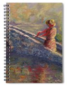 Monet's Lady Spiral Notebook
