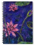 Monet's Lily Pond I Spiral Notebook