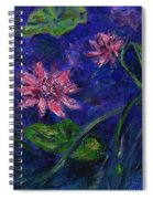 Monet's Lily Pond II Spiral Notebook