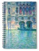 Monet's Palazzo De Mula In Venice Spiral Notebook