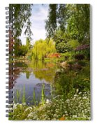 Monet's Water Garden 2 At Giverny Spiral Notebook