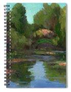 Monet's Water Lily Pond Spiral Notebook