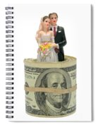 Money And Happiness Spiral Notebook