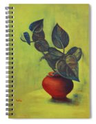 Money Plant - Still Life Spiral Notebook