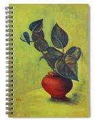 Money Plant - Still Life Spiral Notebook