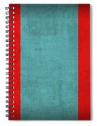 Mongolia Flag Vintage Distressed Finish Spiral Notebook