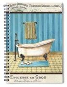 Monique Bath 1 Spiral Notebook