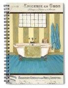 Monique Bath 2 Spiral Notebook