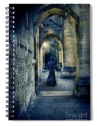 Monk In A Dark Corridor Spiral Notebook