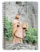 Monk Of St Goar Spiral Notebook