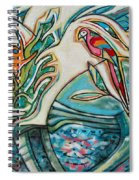 Monkey And Macaw Spiral Notebook