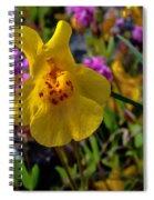 Monkey Flower Spiral Notebook