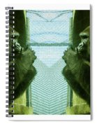 Monkey See Monkey Do Spiral Notebook