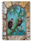 Monkey's Mosiac 02 Spiral Notebook