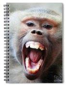Monkey's Smile Spiral Notebook