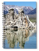 Mono Lake And Sierra Mtns Spiral Notebook