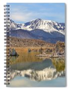 Mono Lake Reflections Spiral Notebook