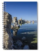 Mono Lake Tufas 3 Spiral Notebook