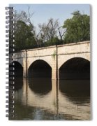 Monocacy Aqueduct On The C And O Canal In Maryland Spiral Notebook