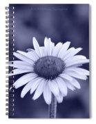 Monochrome Aster Spiral Notebook