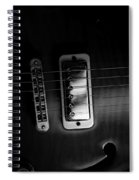 Monochrome Yamaha 2 Spiral Notebook