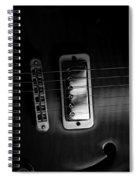Monochrome Yamaha 2 Spiral Notebook