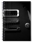 Monochrome Yamaha 3 Spiral Notebook