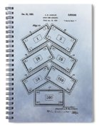 Monopoly Money Patent Spiral Notebook