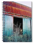 Monroe Co. Michigan Barn Spiral Notebook