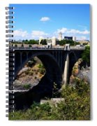 Monroe Street Bridge - Spokane Spiral Notebook