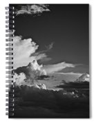 Monsoon Clouds At Sunset Spiral Notebook
