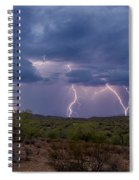 Monsoon Madness Strikes  Spiral Notebook