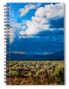 Monsoons In July Spiral Notebook