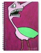Monster Bird Spiral Notebook