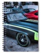 Monster Camaro Spiral Notebook