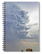 Monster Cloud Country Spiral Notebook