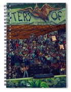 Monsters Of Rock Stage While A C D C Started Their Set - July 1979 Spiral Notebook
