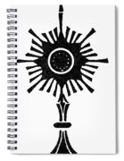 Monstrance Spiral Notebook