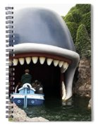 Monstro The Whale Boat Ride At Disneyland Spiral Notebook