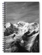 Mont Blanc Massif Spiral Notebook