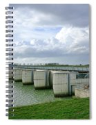 Mont Saint Michel Dam Spiral Notebook